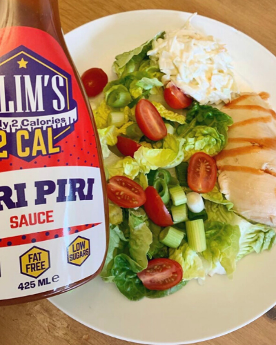 Slims Foods Low Calorie Piri Piri Sauce