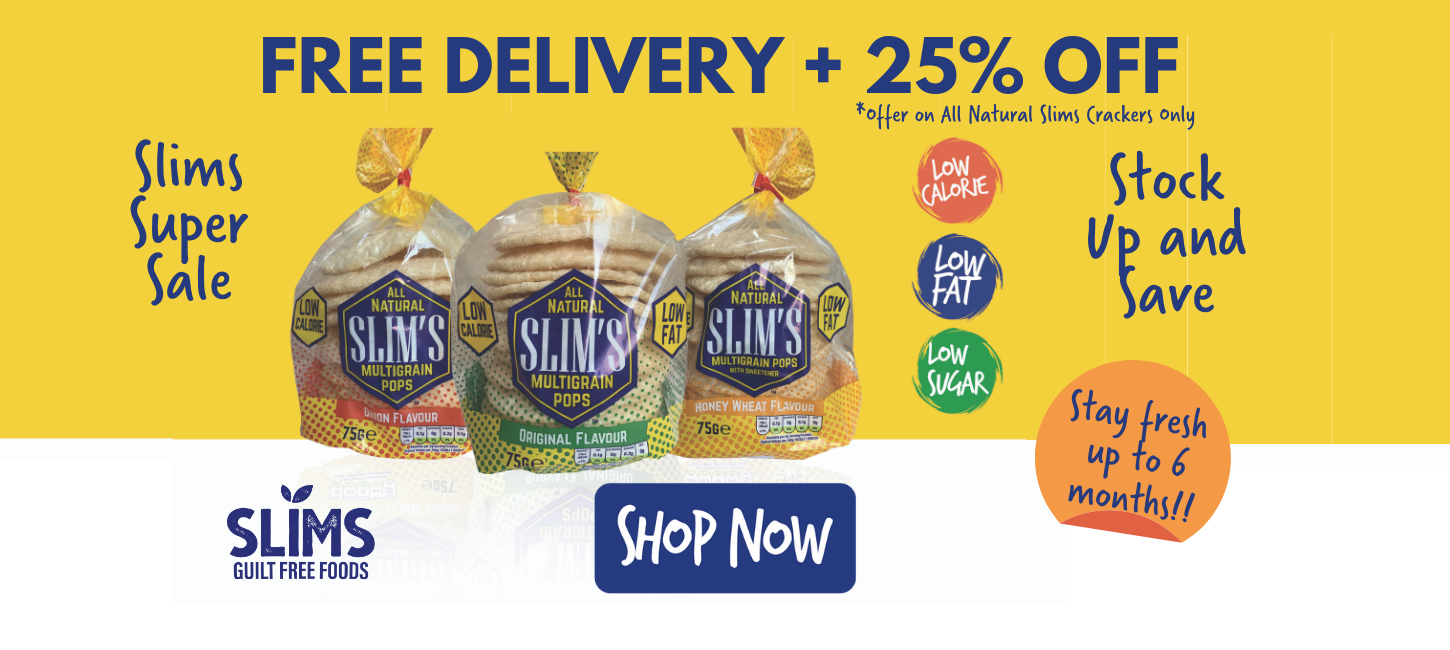 25% off Slims Pops and Free Delivery