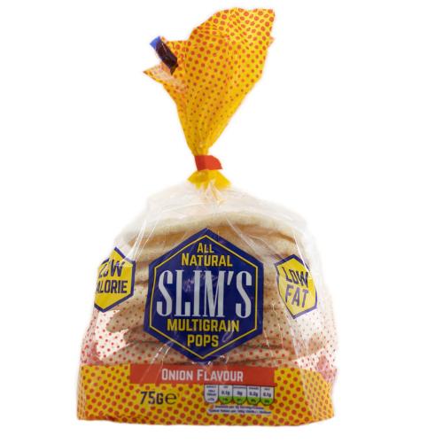 Onion Multi-grain Pops – Slims – Box of 12